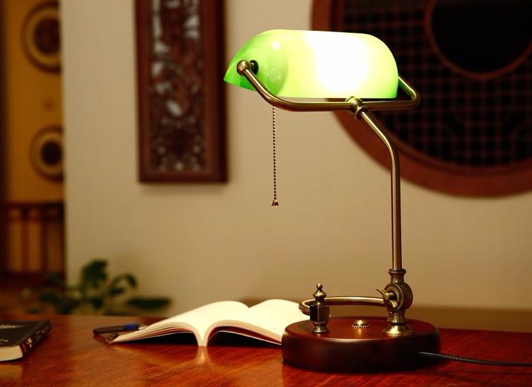 современная настольная лампа